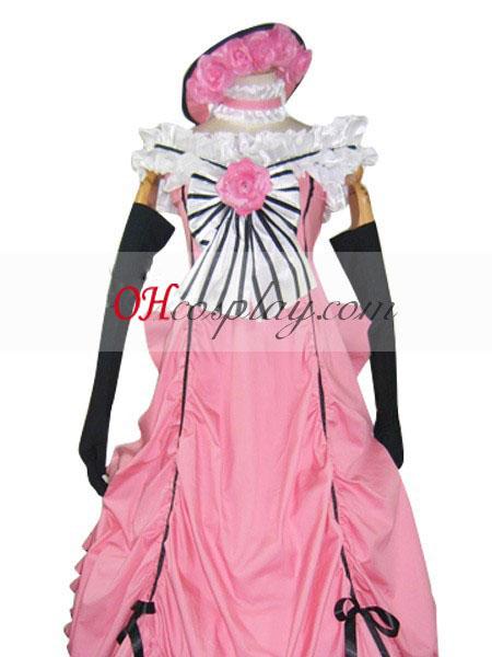 phantomhive סייל משרת שחור ורוד קוספליי לבוש בגד ים