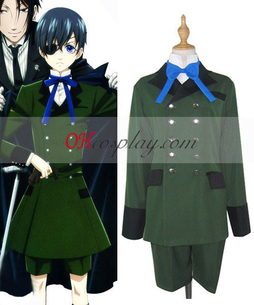 Black Butler Ciel Phantomhive Cosplay Traje Normal