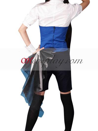 Black Butler Ciel Phantomhive Short Shirt udklædning Kostume