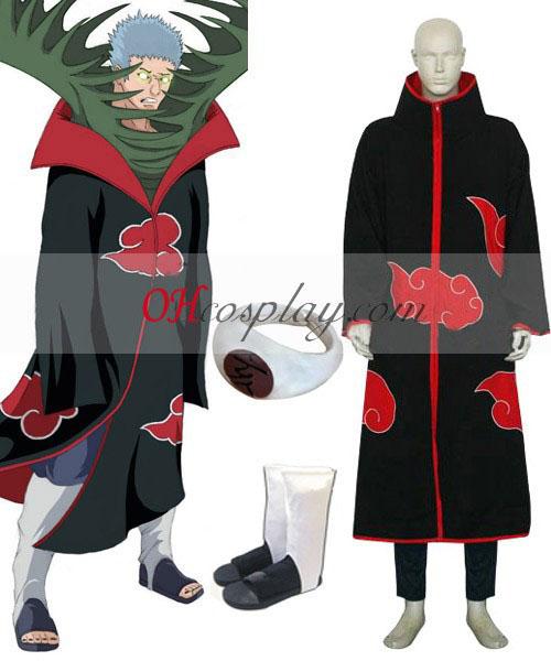 Naruto Akatsuki Zetsu Deluxe Cosplay Kostuum Set