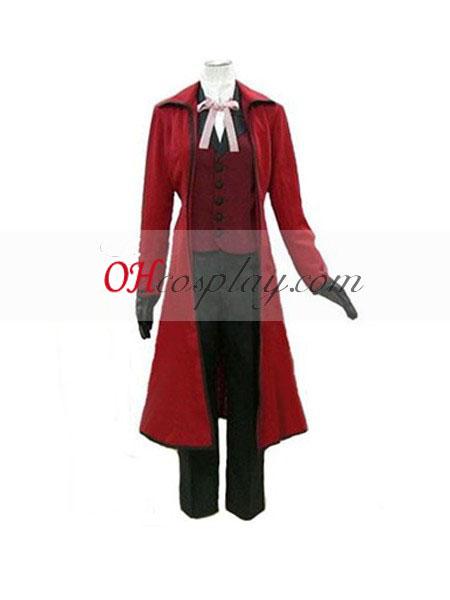 שחור sutcliff grell באטלר באטלר (אדום) קוספליי בגד ים