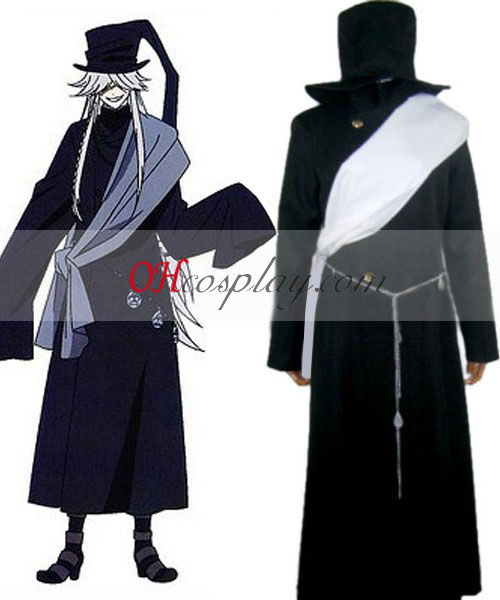 Black Butler Undertaker Cosplay Costume