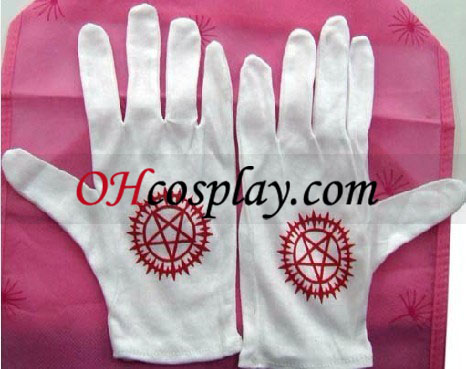 Black Butler Sebastian Michaelis Cosplay Gloves