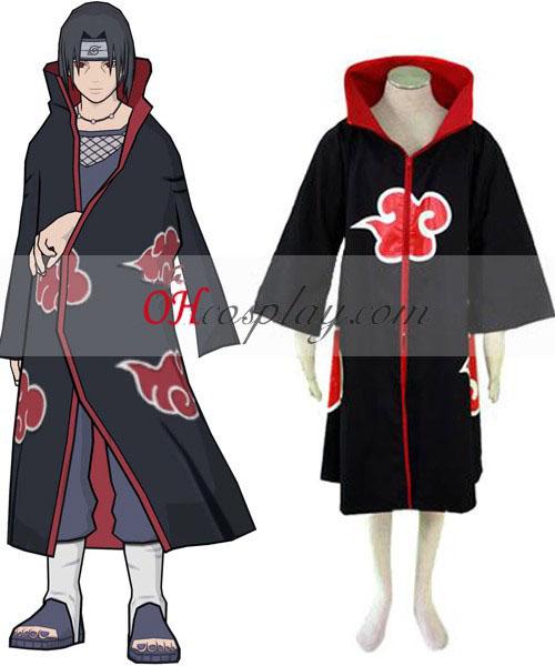 Naruto Akatsuki Coat Cosplay Kostuum