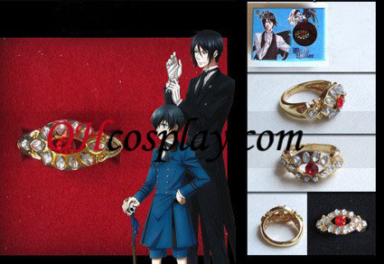 Svart Butler Alois Trancy Cosplay Ring