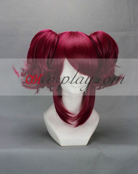 Black Butler Maylene Red Cosplay Wig