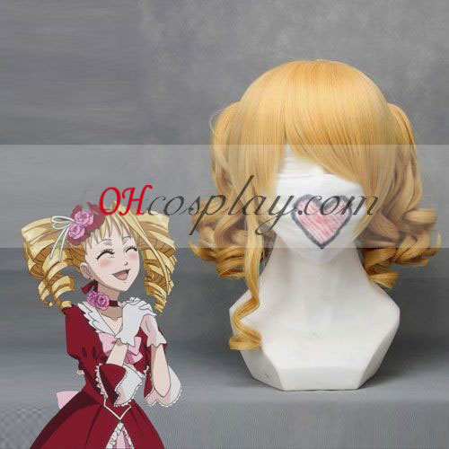 Black Butler Elizabeth Yellow Cosplay Wig