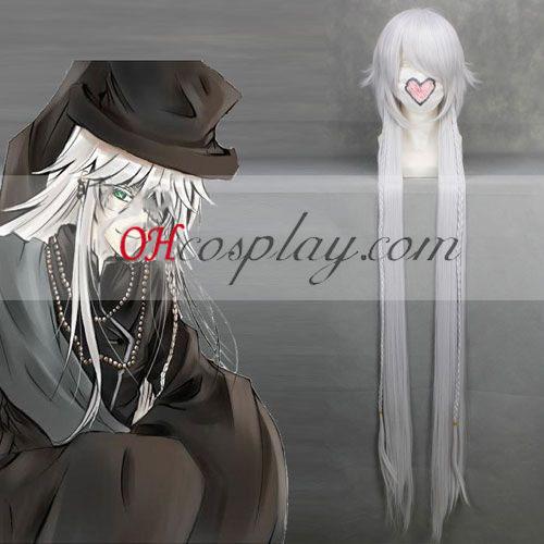 Black Butler Undertaker Sliver Cosplay Kostüme Perücke