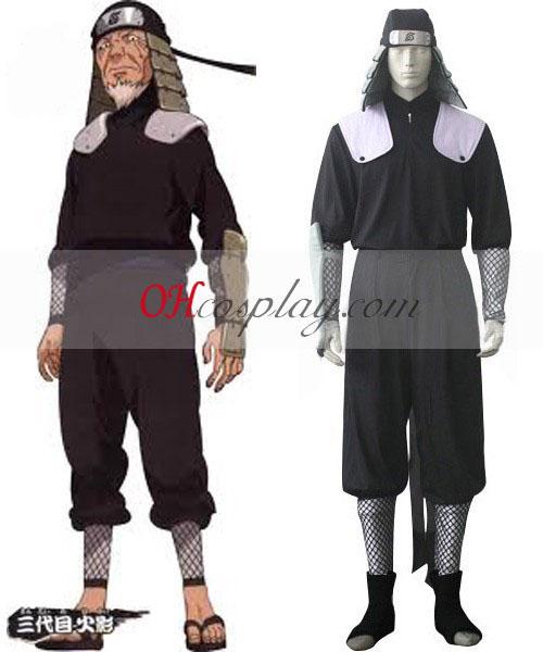 Naruto 3rd Hokage Hiruzen Sarutobi Battle Cosplay Costume Australia