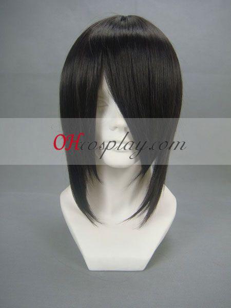 Черен Бътлър Себастиан Michaelis черно Cosplay Wig
