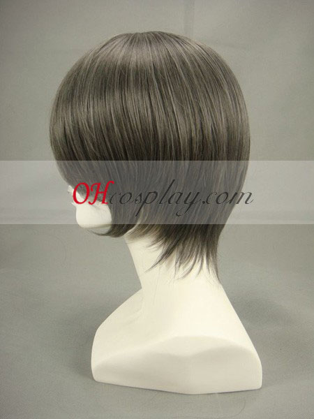 Black Butler Ash Ciel Phantomhive Grey Black Cosplay Wig
