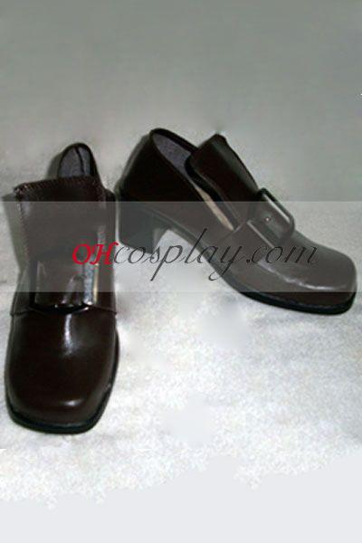 קוספליי signorino משרת שחור סייל נעליים