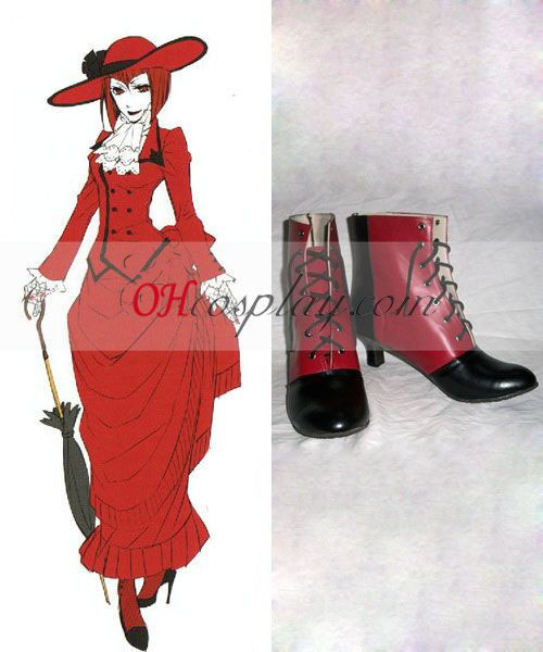 Black Butler Angelina Dulles Cosplay Shoes