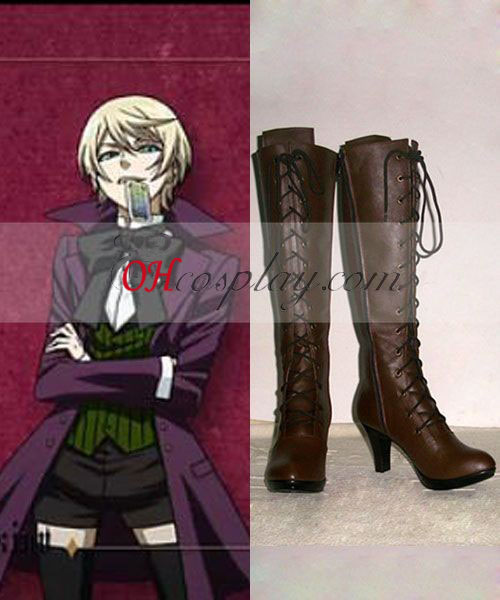 Black Butler Alois Trancy Costume Carnaval Cosplay Bottes