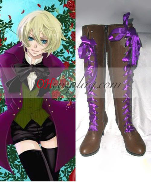 Black Butler Alois Trancy Cosplay botas