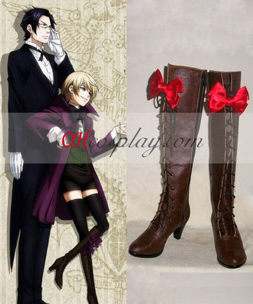 Black Butler Alois Trancy Cosplay Boots Online Shop For UK