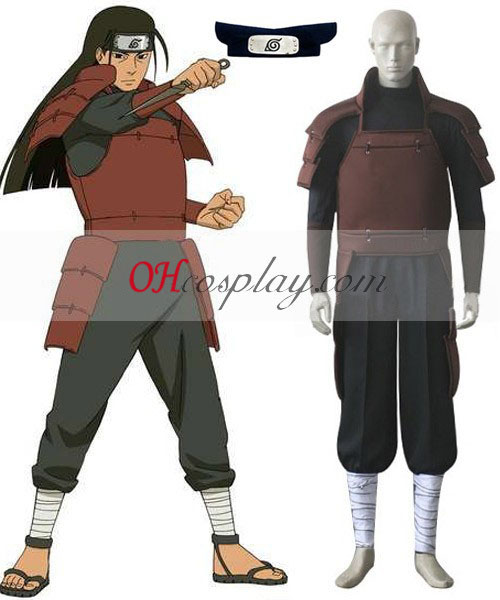 Naruto First Hokage Hashirama Senju Cosplay Costume Set