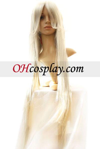 Черен Бътлър предприемач Cosplay Wig