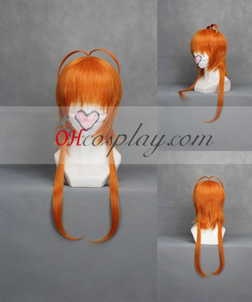 Card Captor Sakura Sakura orange Cosplay Kostüme Perücke