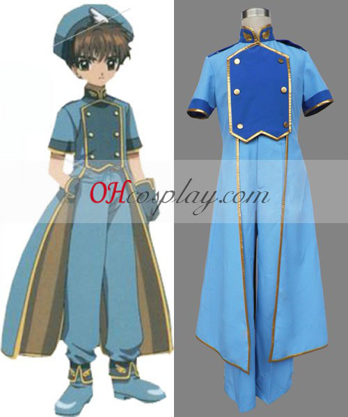 Cardcaptor Sakura Syaoran Li The Sealed Card Cosplay Costume