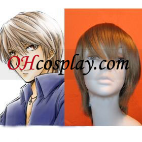 Morte Nota Light Yagami Kira Cosplay peruca