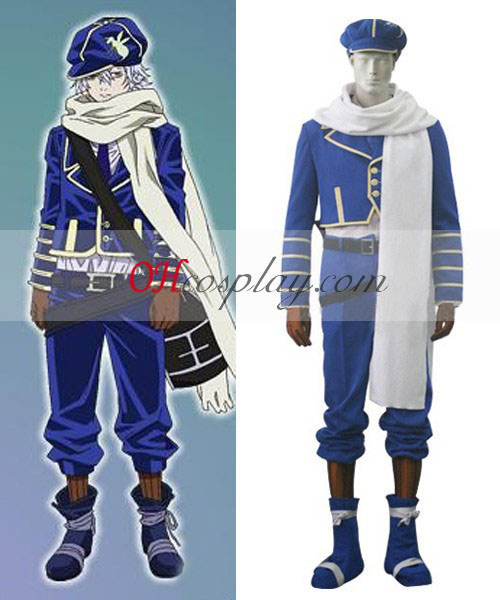 Tegami Bachi Lag Seeing Cosplay Costume