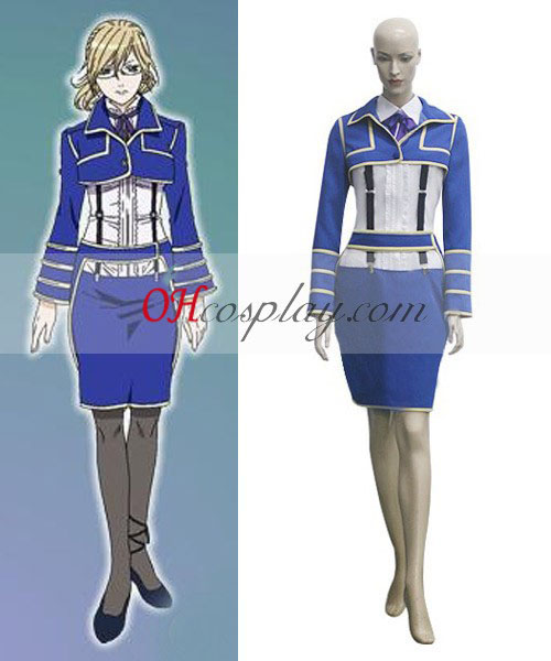 Tegami Bachi Aria référence Costume Carnaval Cosplay