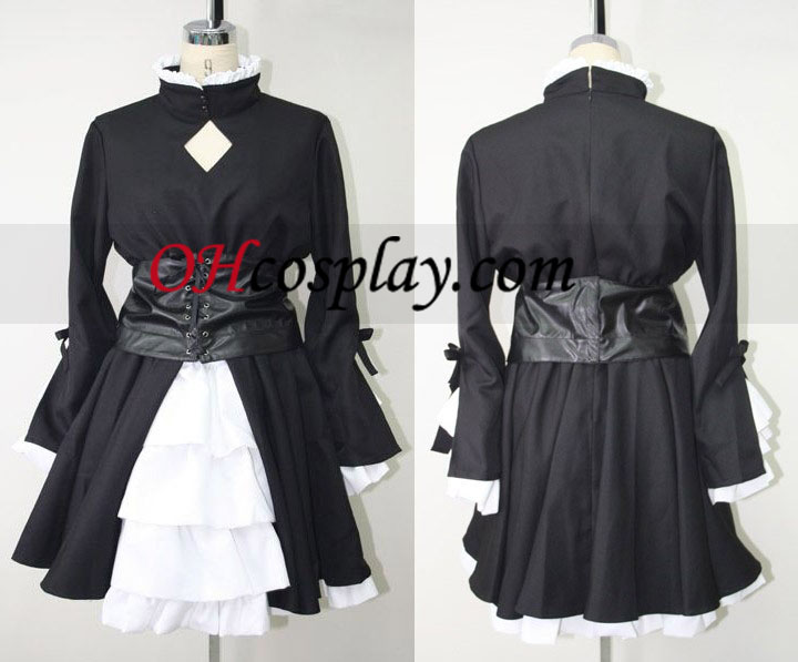 Saber Black Cosplay Costume (Hollow Ataraxia) over where from a Fate Stay Night