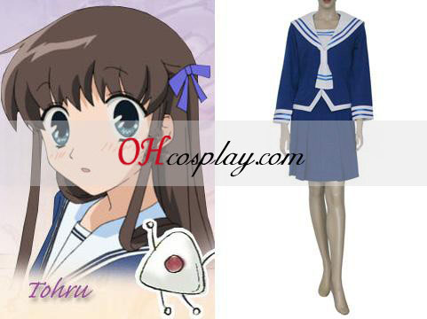 Fruits Basket Tohru Honda Cosplay Kostym