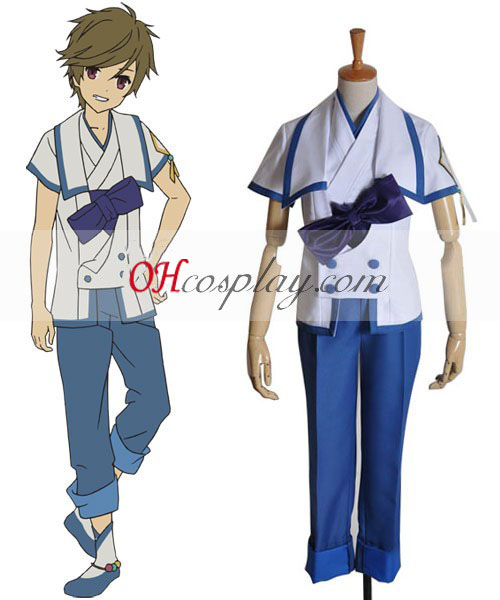 Do novo mundo Satoru Boy uniforme Traje Cosplay