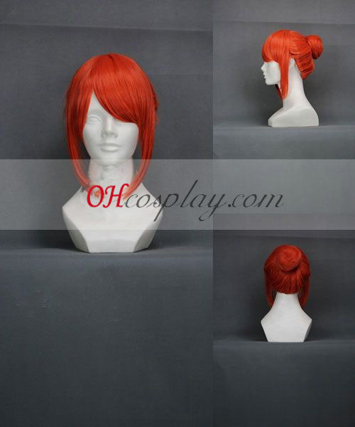 Gintama Gintama Kagura Cheongsam Orange Cosplay Wig