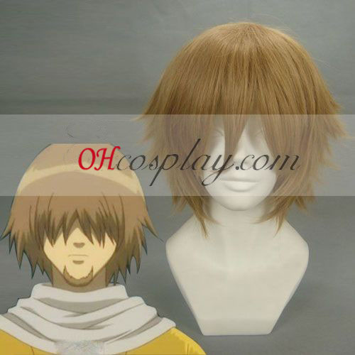 Gintama Iwami no Kami Brown Cosplay Wig