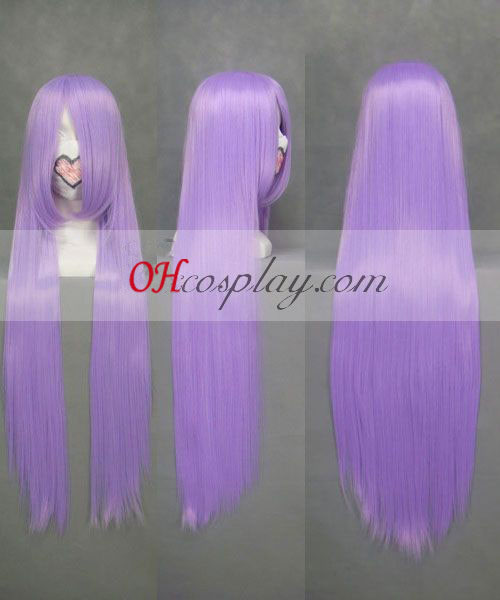 Gintama Sarutobi Ayame Light Purple Cosplay Wig