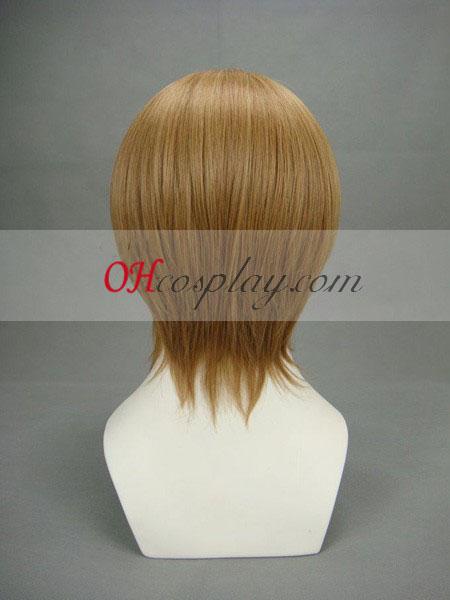 Gintama Okita Sougo Brown Cosplay Wig
