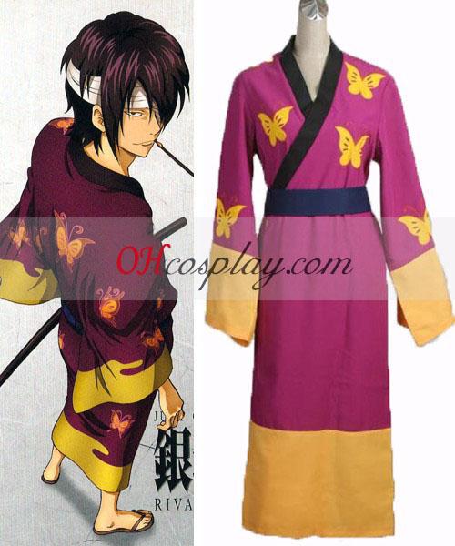 Gintama Takasugi Shinsuke Cosplay костюм