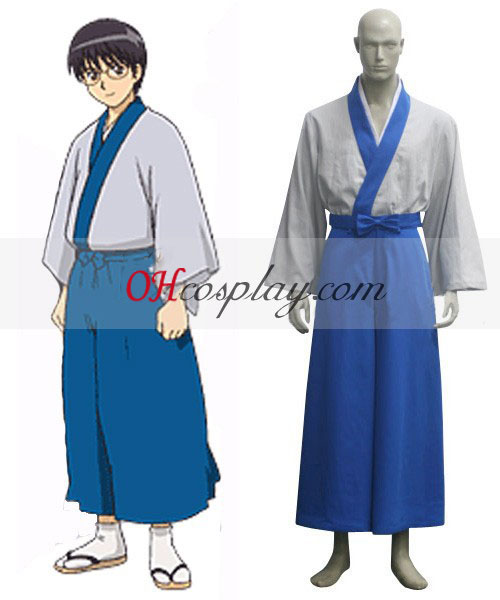 Gintama Shinpachi Shimura Cosplay Halloween Costume