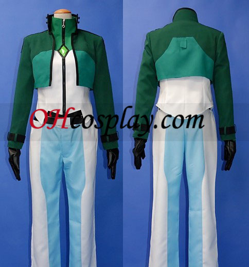 Lockon Costume Carnaval Cosplay de Gundam