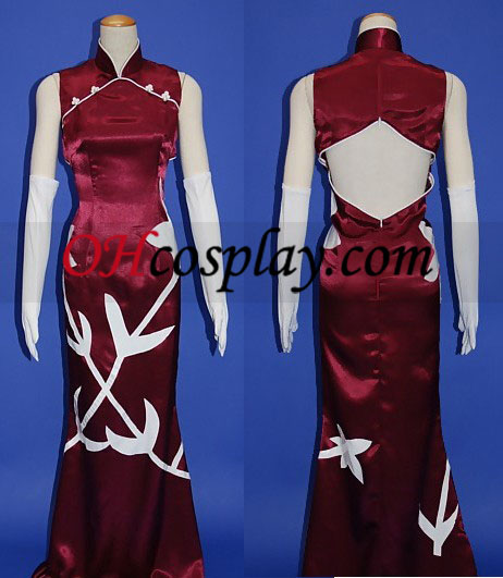 Wang Liu Mei Cosplay Costume straight from Gundam