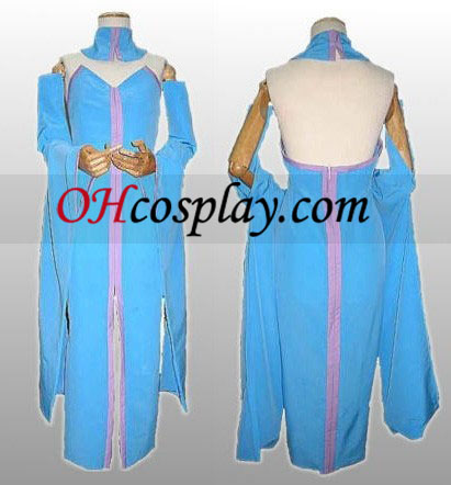 Lacus Clyne Cosplay Dress from Gundam Seed