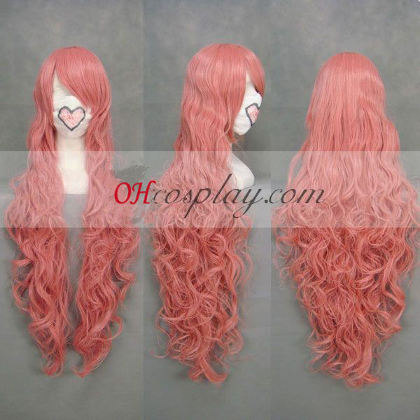 Fristet Seed Lacus Clyne udklædning Pink Paryk Wave