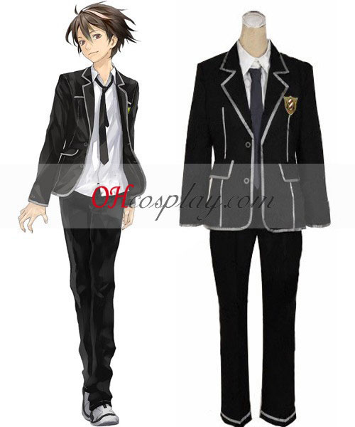 Guilty Crown Shu ouma uniforme escolar Cosplay Traje