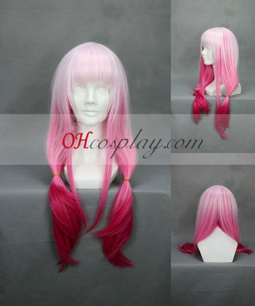 Guitly Crown Yuzuriha Inori Pink peruca Cosplay