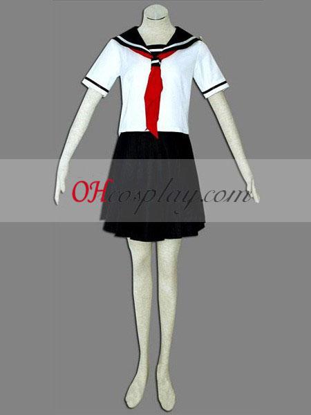 Ада момиче Enma Ai бяла еднакво Cosplay костюм