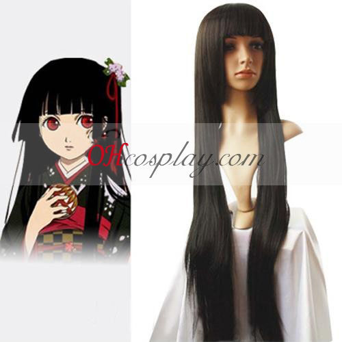 Hell Girl Enma Ai Black Cosplay Wig
