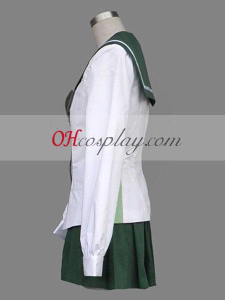 ... High School of the Dead Miyamoto Rei escuela cosplay uniforme ... ae0221afde28