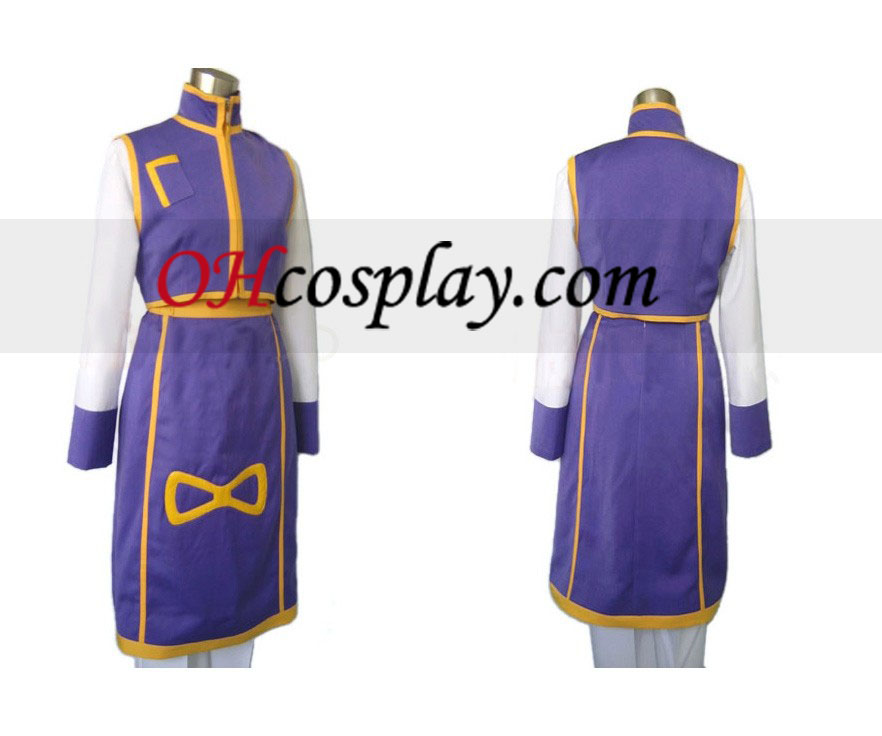 Kurapika Cosplay kostyme fra Hunter X Hunter