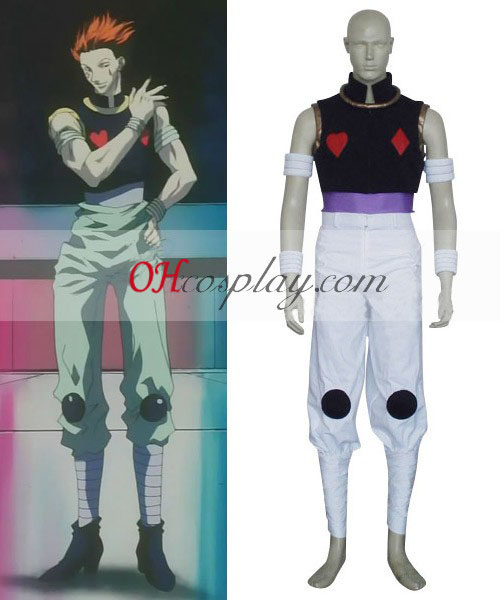 Hunter X Hunter Kuroro Lucifer Cosplay Kostym