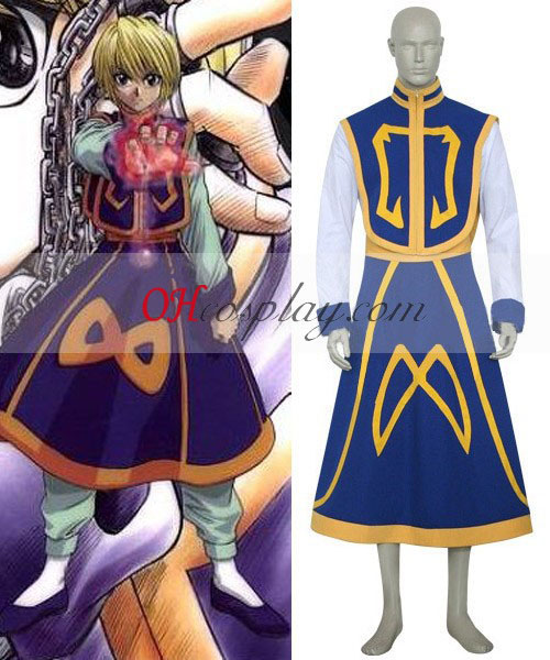 Hunter X Hunter Kuroro Lucifer Cosplay kostyme