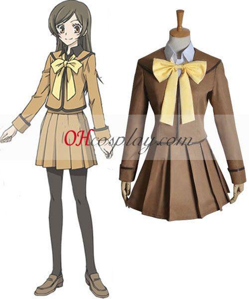 Kamisama Love Toen Nanao Cosplay Costume