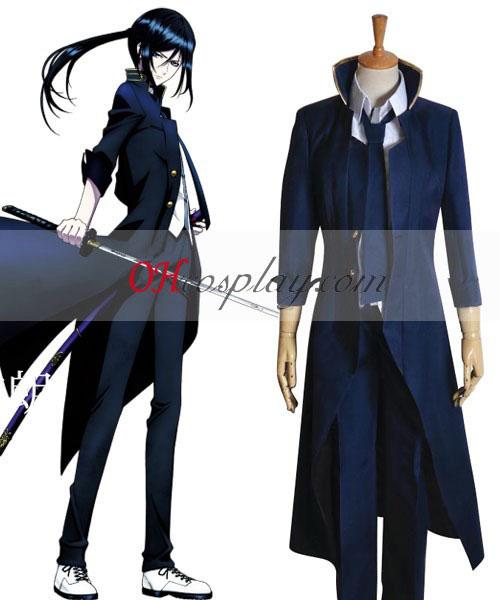 K Yatogami Kuroh Cosplay kostyme